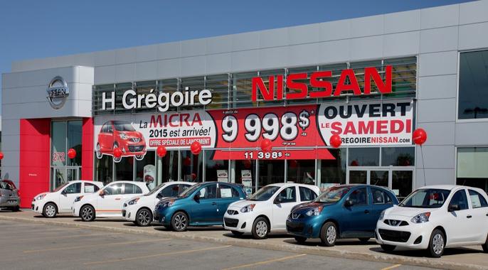 HGrégoire Nissan St-Eustache