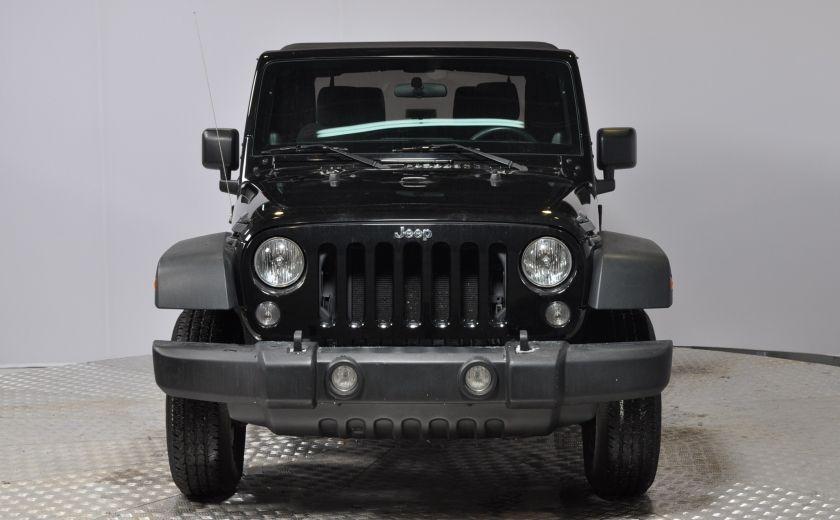 2014 Jeep Wrangler  SPORT MANUEL  A/C CONVERTIBLE  CRUISE 4X4 #1