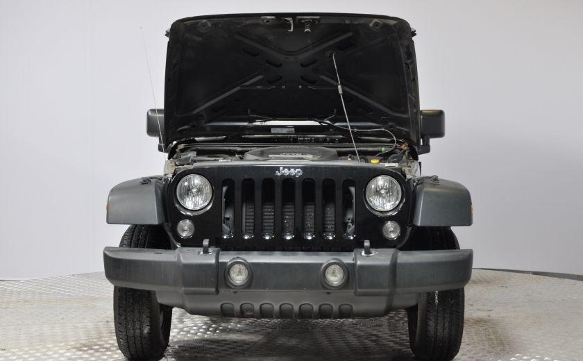 2014 Jeep Wrangler  SPORT MANUEL  A/C CONVERTIBLE  CRUISE 4X4 #24