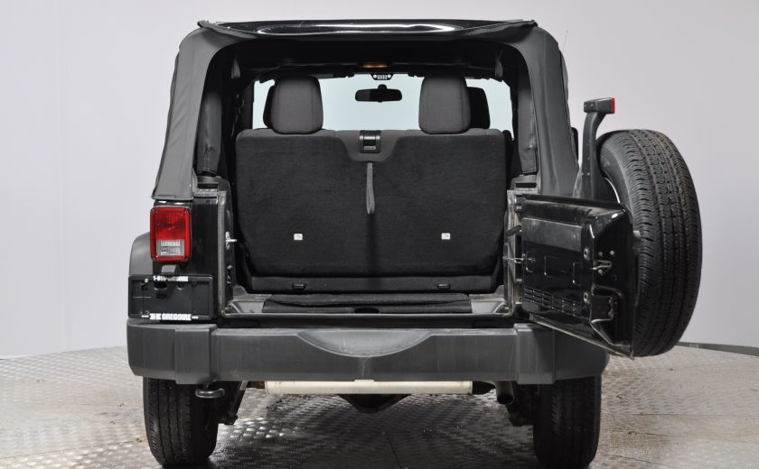 2014 Jeep Wrangler  SPORT MANUEL  A/C CONVERTIBLE  CRUISE 4X4 #25
