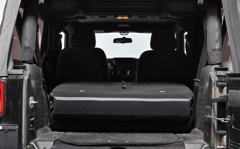 2014 Jeep Wrangler  SPORT MANUEL  A/C CONVERTIBLE  CRUISE 4X4 #27