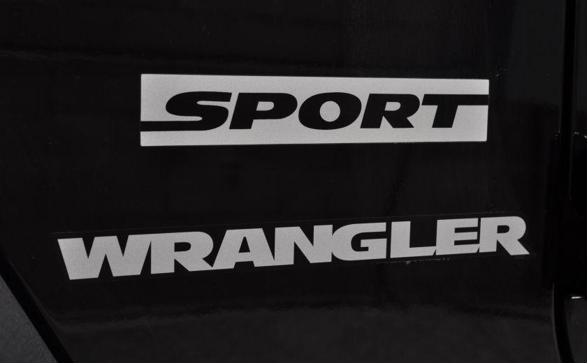 2014 Jeep Wrangler  SPORT MANUEL  A/C CONVERTIBLE  CRUISE 4X4 #29