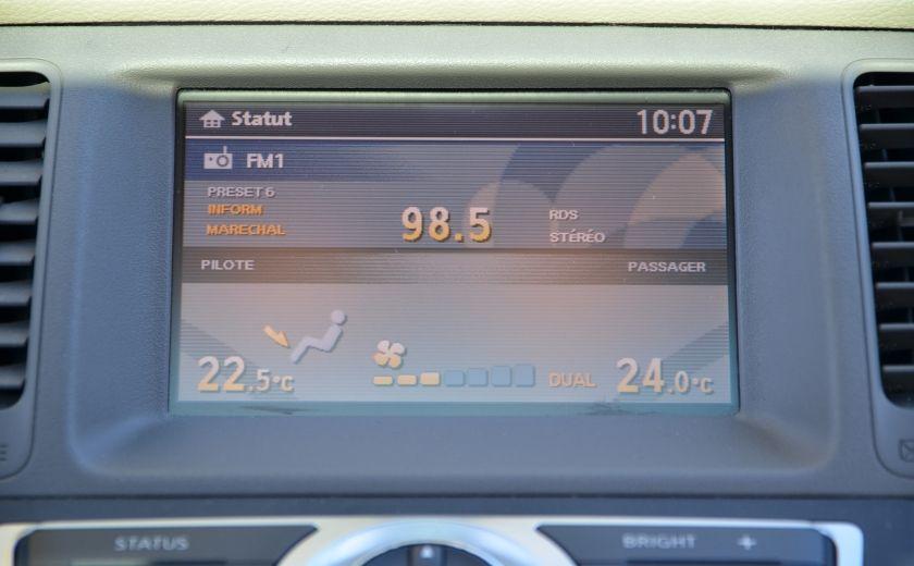 2010 Nissan Murano LE AWD A/C BIZONE CUIR GROUPE ELEC SIEGES CHAUFFAN #7