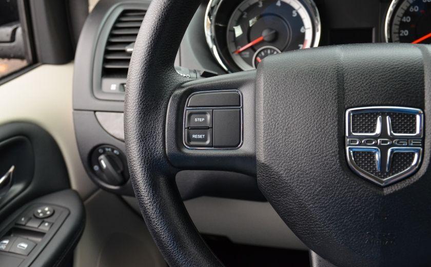 2016 Dodge GR Caravan A/C BIZONE CRUISE ABS PORTES ET VITRES A COMMANDE #17