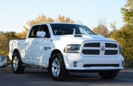 2014 Ram 1500 SPORT A/C BLUETOOTH CAM SIEGES CHAUFFANT NAV in New Richmond