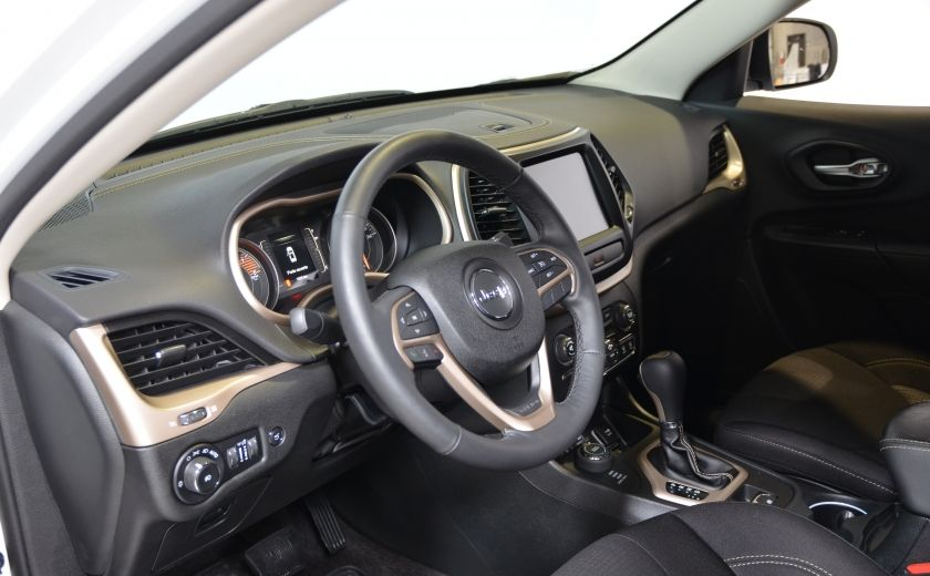 2016 Jeep Cherokee NORTH 4X4 SIEGES ET VOLANT CHAUFFANT CAM BLUETOOTH #4