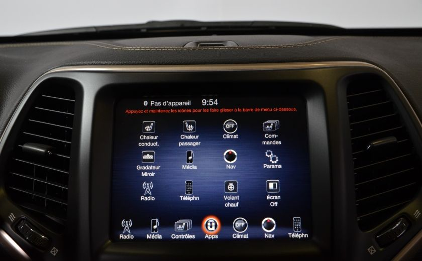 2016 Jeep Cherokee NORTH 4X4 SIEGES ET VOLANT CHAUFFANT CAM BLUETOOTH #15