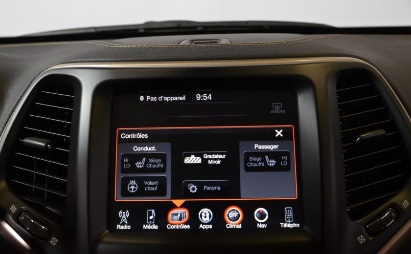 2016 Jeep Cherokee NORTH 4X4 SIEGES ET VOLANT CHAUFFANT CAM BLUETOOTH #16