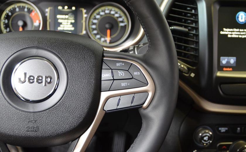 2016 Jeep Cherokee NORTH 4X4 SIEGES ET VOLANT CHAUFFANT CAM BLUETOOTH #17
