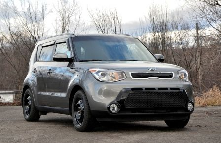2015 Kia Soul SX LUXURY A/C AUTO CAM CRUISE NAV CUIR SIEGES CHAU in Sept-Îles
