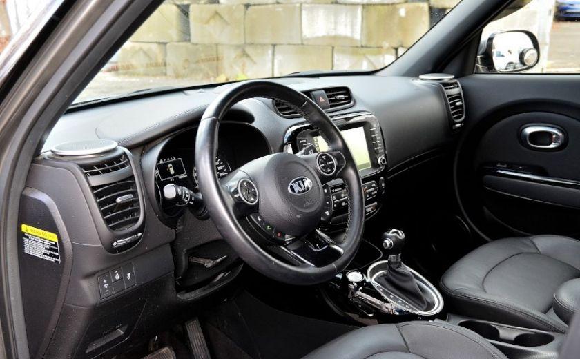 2015 Kia Soul SX LUXURY A/C AUTO CAM CRUISE NAV CUIR SIEGES CHAU #8