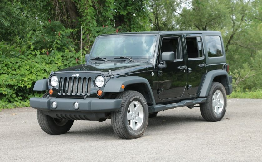 2013 Jeep Wrangler Unlimited Sport MAN 4x4 2 TOITS MAGS #2