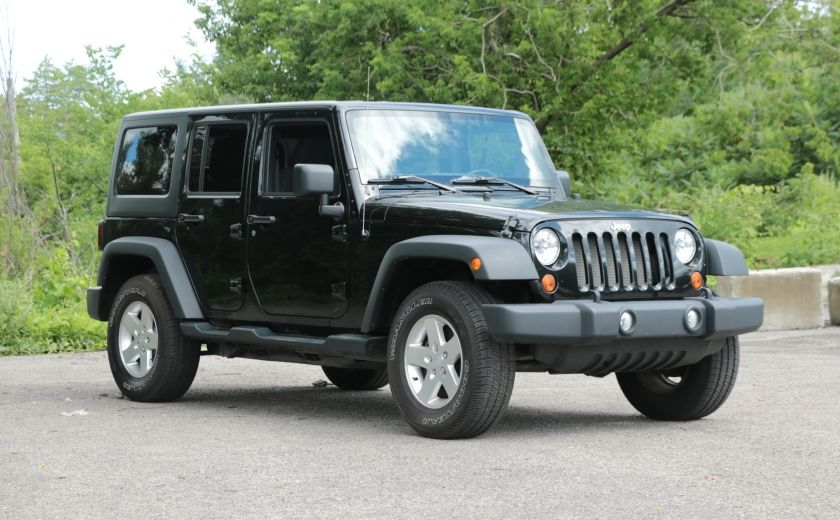 2013 Jeep Wrangler Unlimited Sport MAN 4x4 2 TOITS MAGS #0