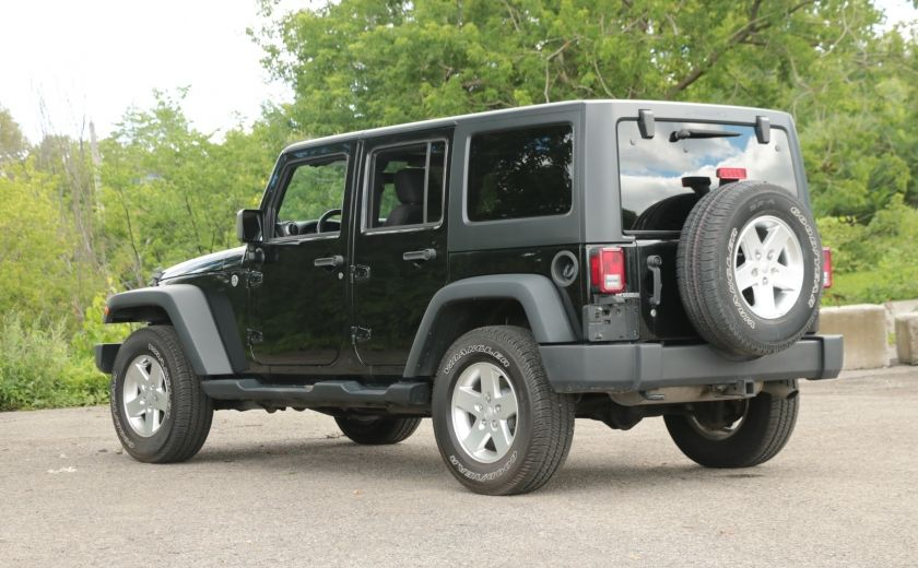 2013 Jeep Wrangler Unlimited Sport MAN 4x4 2 TOITS MAGS #4
