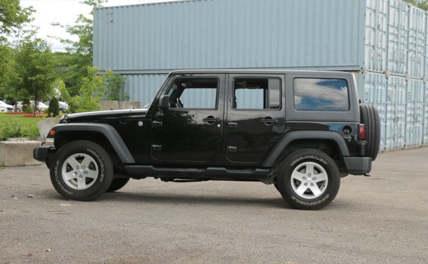 2013 Jeep Wrangler Unlimited Sport MAN 4x4 2 TOITS MAGS #3