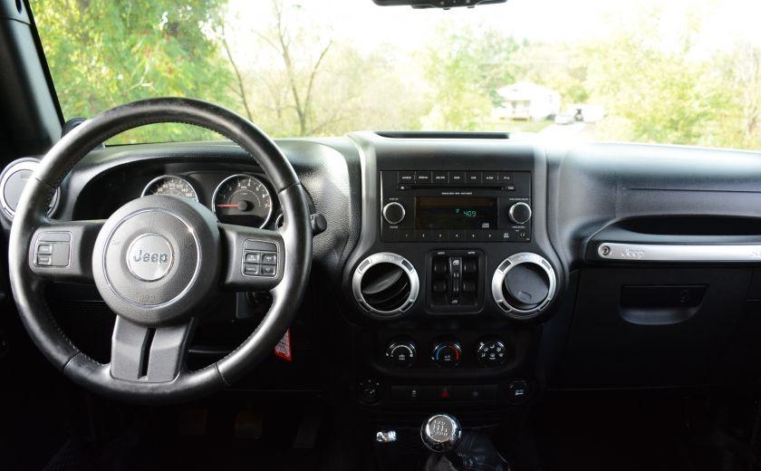 2013 Jeep Wrangler SAHARA A/C CRUISE DC 4X4 MAN #12