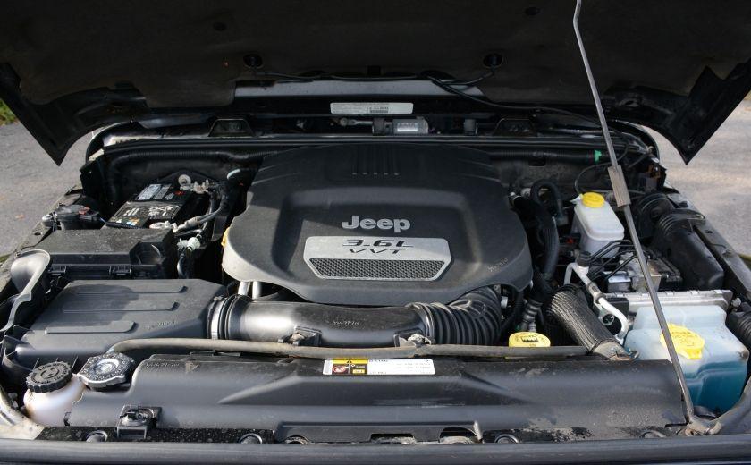 2013 Jeep Wrangler SAHARA A/C CRUISE DC 4X4 MAN #21