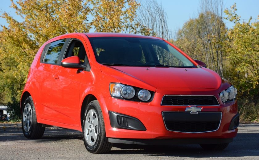 2013 Chevrolet Sonic LS BLUETOOTH COMMANDES AUDIO AU VOLANT #0