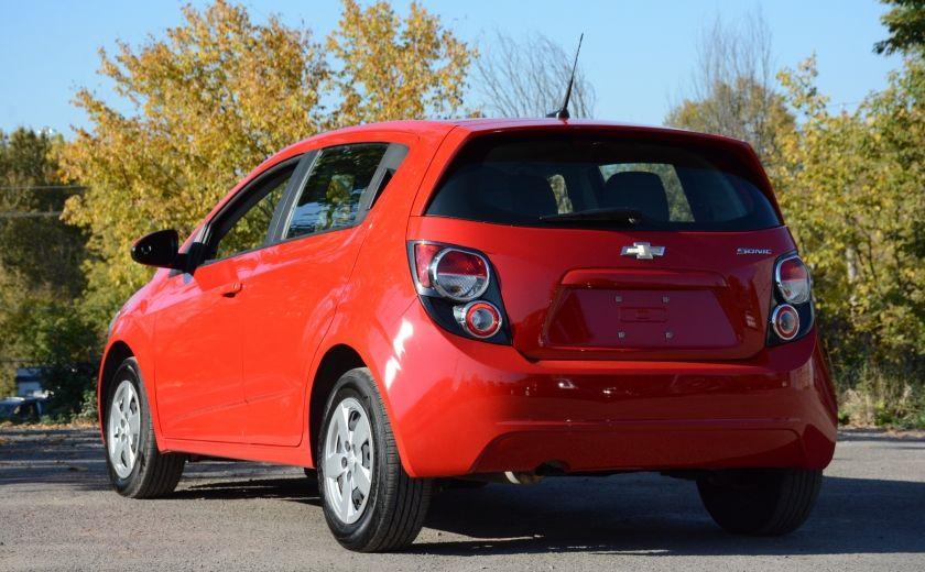 2013 Chevrolet Sonic LS BLUETOOTH COMMANDES AUDIO AU VOLANT #3