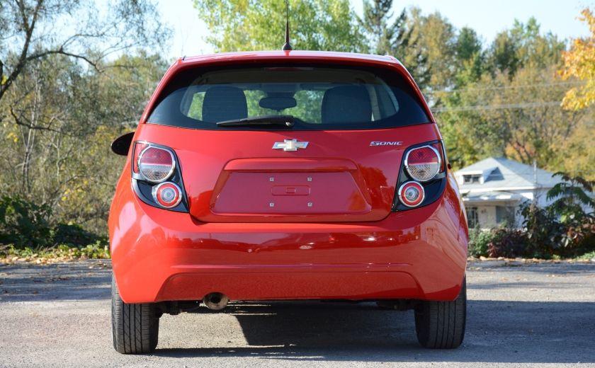 2013 Chevrolet Sonic LS BLUETOOTH COMMANDES AUDIO AU VOLANT #4