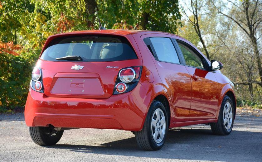 2013 Chevrolet Sonic LS BLUETOOTH COMMANDES AUDIO AU VOLANT #5