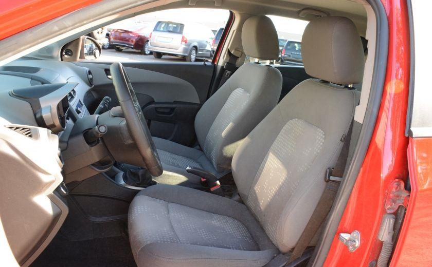 2013 Chevrolet Sonic LS BLUETOOTH COMMANDES AUDIO AU VOLANT #8