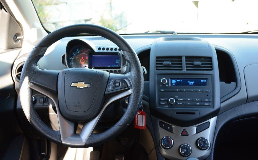 2013 Chevrolet Sonic LS BLUETOOTH COMMANDES AUDIO AU VOLANT #10