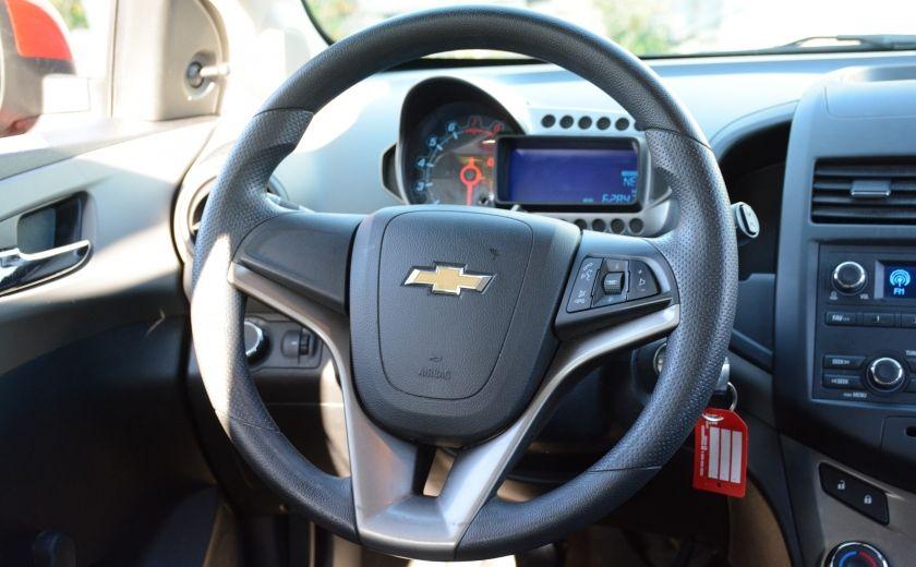 2013 Chevrolet Sonic LS BLUETOOTH COMMANDES AUDIO AU VOLANT #11