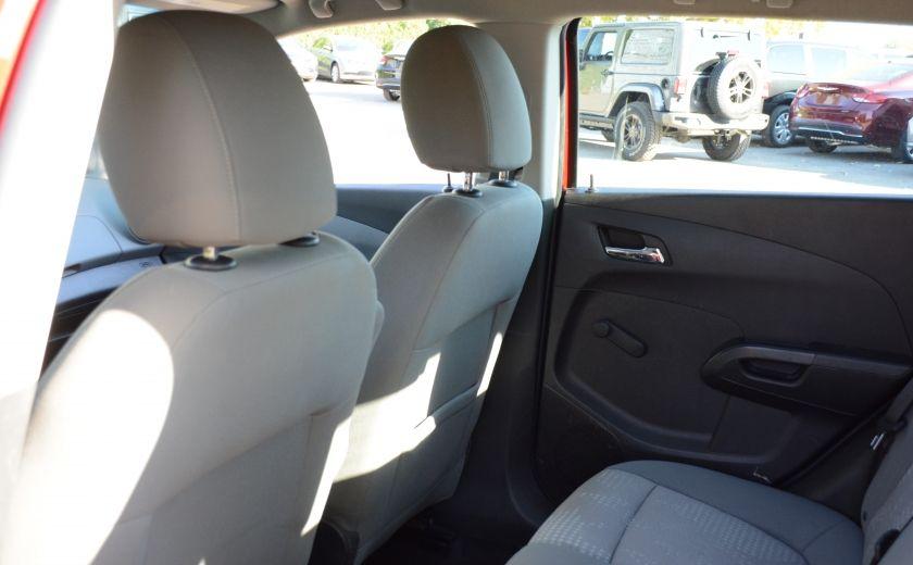 2013 Chevrolet Sonic LS BLUETOOTH COMMANDES AUDIO AU VOLANT #14