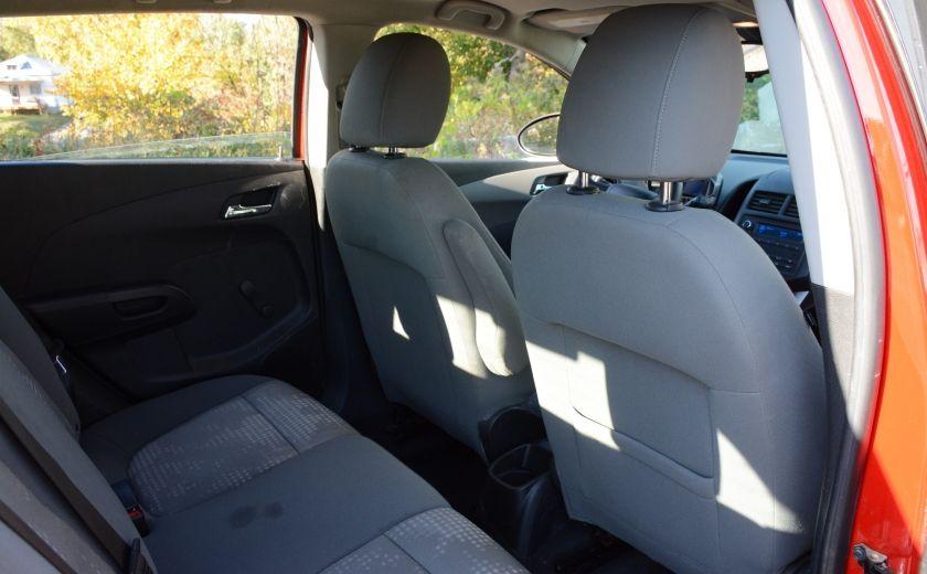 2013 Chevrolet Sonic LS BLUETOOTH COMMANDES AUDIO AU VOLANT #16