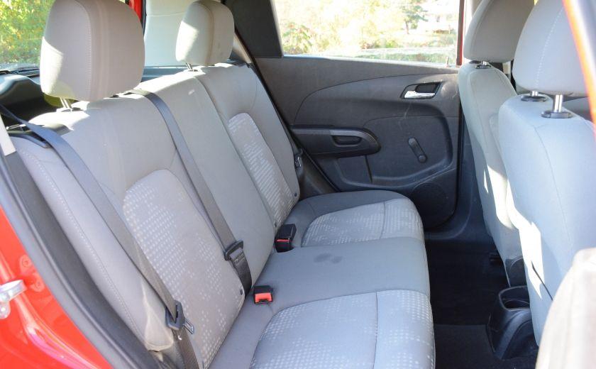 2013 Chevrolet Sonic LS BLUETOOTH COMMANDES AUDIO AU VOLANT #17