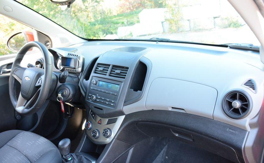2013 Chevrolet Sonic LS BLUETOOTH COMMANDES AUDIO AU VOLANT #18