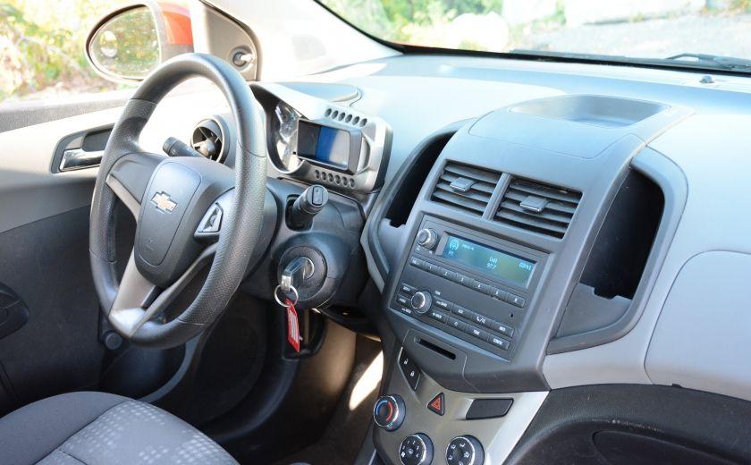 2013 Chevrolet Sonic LS BLUETOOTH COMMANDES AUDIO AU VOLANT #19