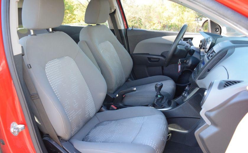 2013 Chevrolet Sonic LS BLUETOOTH COMMANDES AUDIO AU VOLANT #20