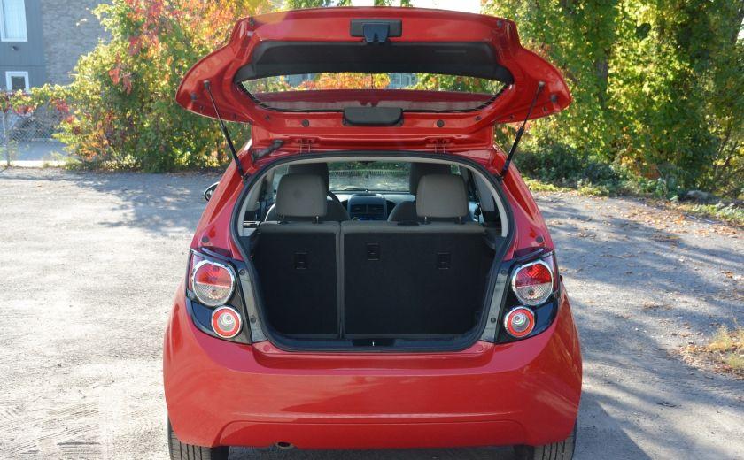 2013 Chevrolet Sonic LS BLUETOOTH COMMANDES AUDIO AU VOLANT #23