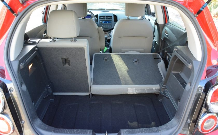 2013 Chevrolet Sonic LS BLUETOOTH COMMANDES AUDIO AU VOLANT #25