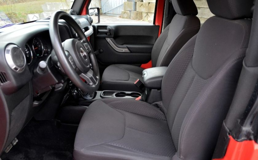 2013 Jeep Wrangler SPORT 2 PORTES 4X4 #10