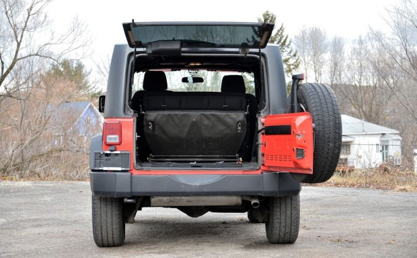2013 Jeep Wrangler SPORT 2 PORTES 4X4 #27