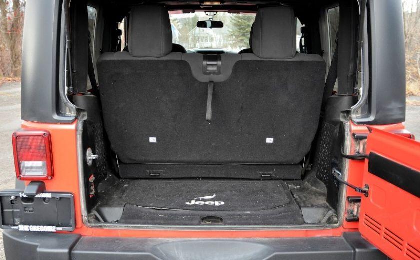 2013 Jeep Wrangler SPORT 2 PORTES 4X4 #28