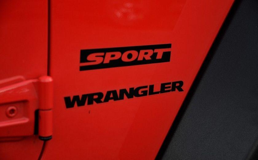 2013 Jeep Wrangler SPORT 2 PORTES 4X4 #32