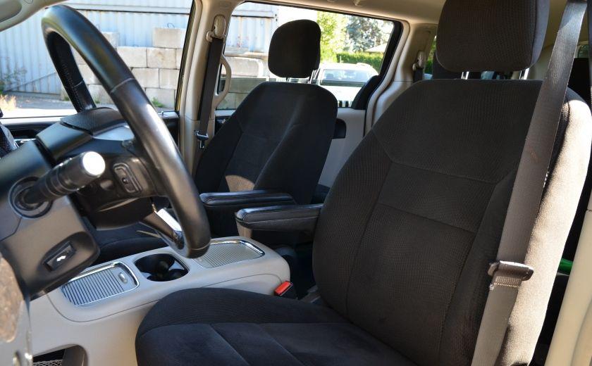 2012 Dodge GR Caravan CREW A/C BIZONE CRUISE  SIÈGES ELECTRIQU #9