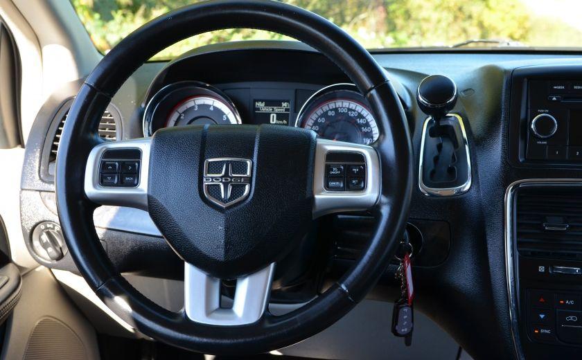 2012 Dodge GR Caravan CREW A/C BIZONE CRUISE  SIÈGES ELECTRIQU #13
