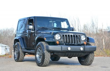 2012 Jeep Wrangler RUBICON 4X4 CUIR A/C CRUISE ABS in Rimouski