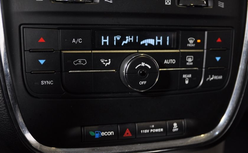 2014 Chrysler Town And Country Touring A/C STOW & GO #18