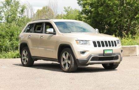 2015 Jeep Grand Cherokee Limited 4x4 A/C CUIR CAMERA MAGS in Drummondville