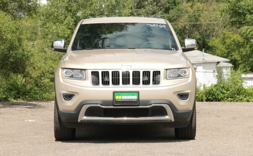 2015 Jeep Grand Cherokee Limited 4x4 A/C CUIR CAMERA MAGS #1