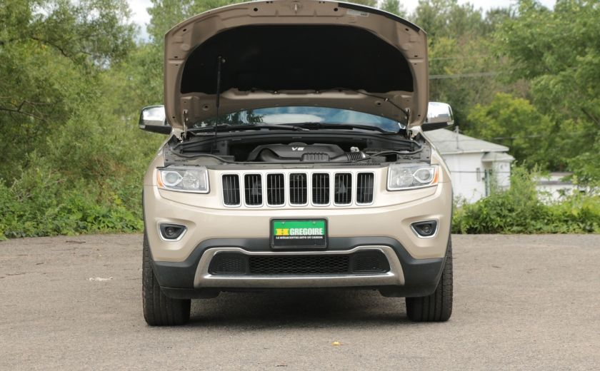 2015 Jeep Grand Cherokee Limited 4x4 A/C CUIR CAMERA MAGS #29