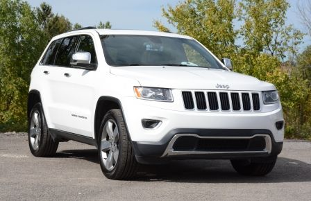 2015 Jeep Grand Cherokee LIMITED A/C CUIR TOIT NAV BLUETOOTH CAM in Saint-Jérôme