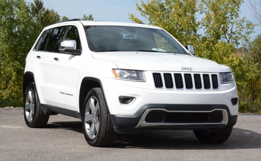 2015 Jeep Grand Cherokee LIMITED A/C CUIR TOIT NAV BLUETOOTH CAM #0