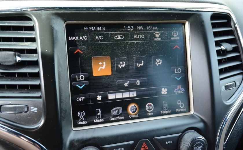 2015 Jeep Grand Cherokee LIMITED A/C CUIR TOIT NAV BLUETOOTH CAM #17